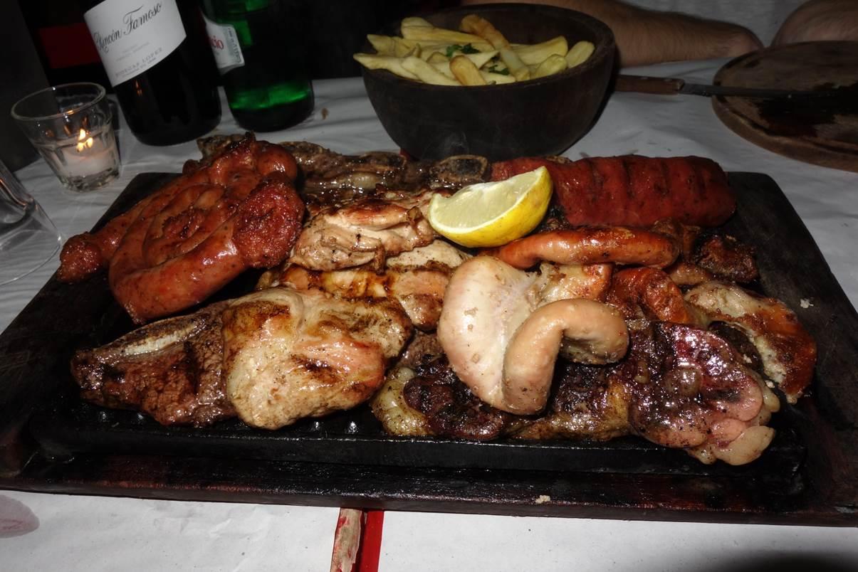 Parilla - Plateau de viande grillée