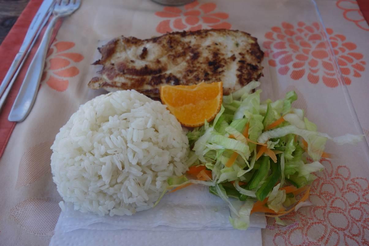 Atun con arroz