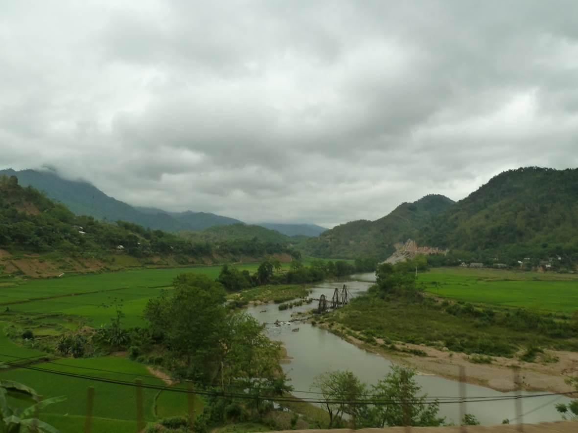 Vers frontière Laos