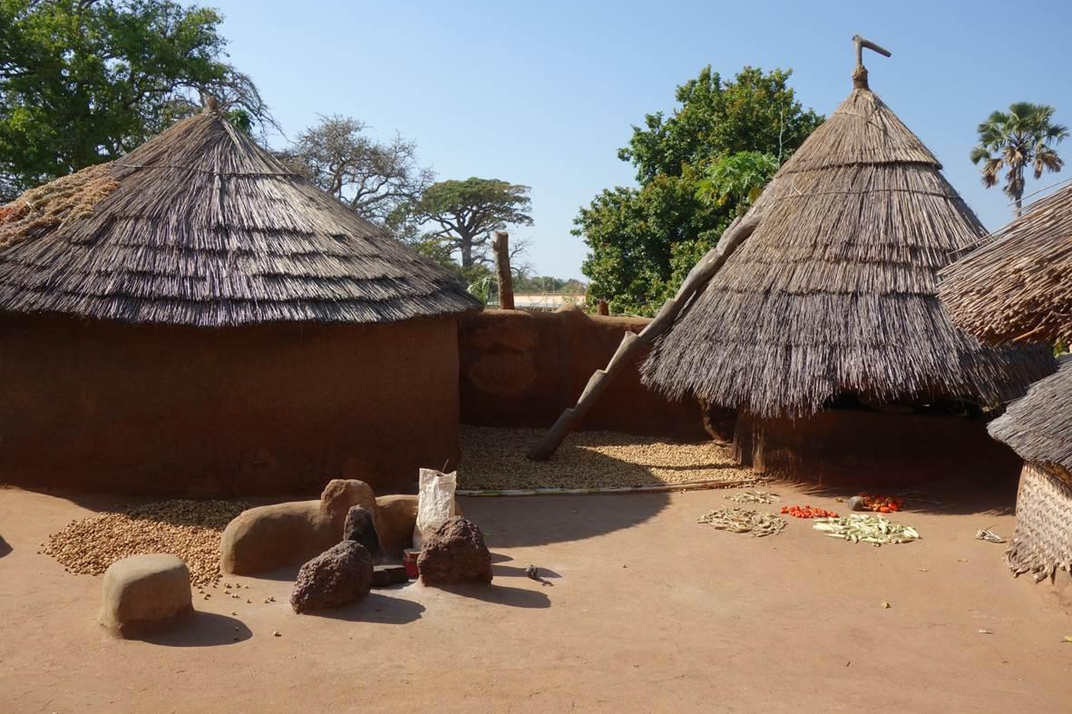 Terrasse d'une Tata Somba - Koussoukoingou