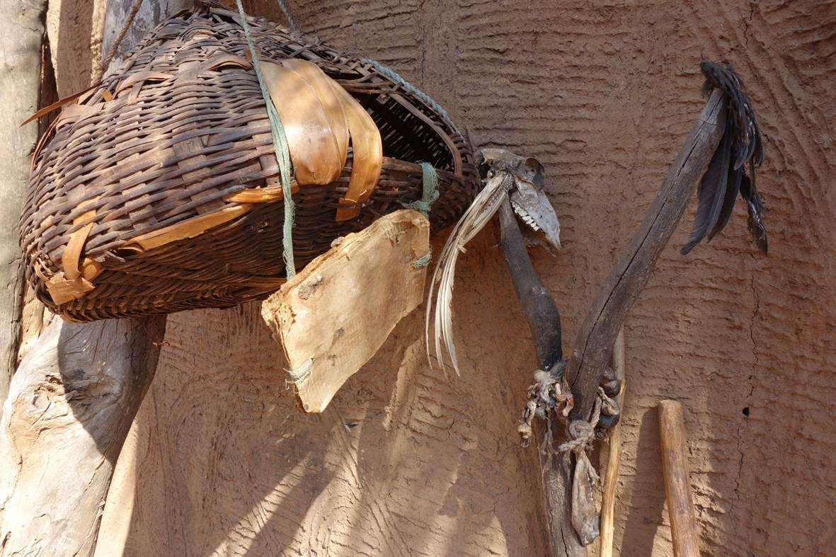 Vestiges de chasse - Koussoukoingou