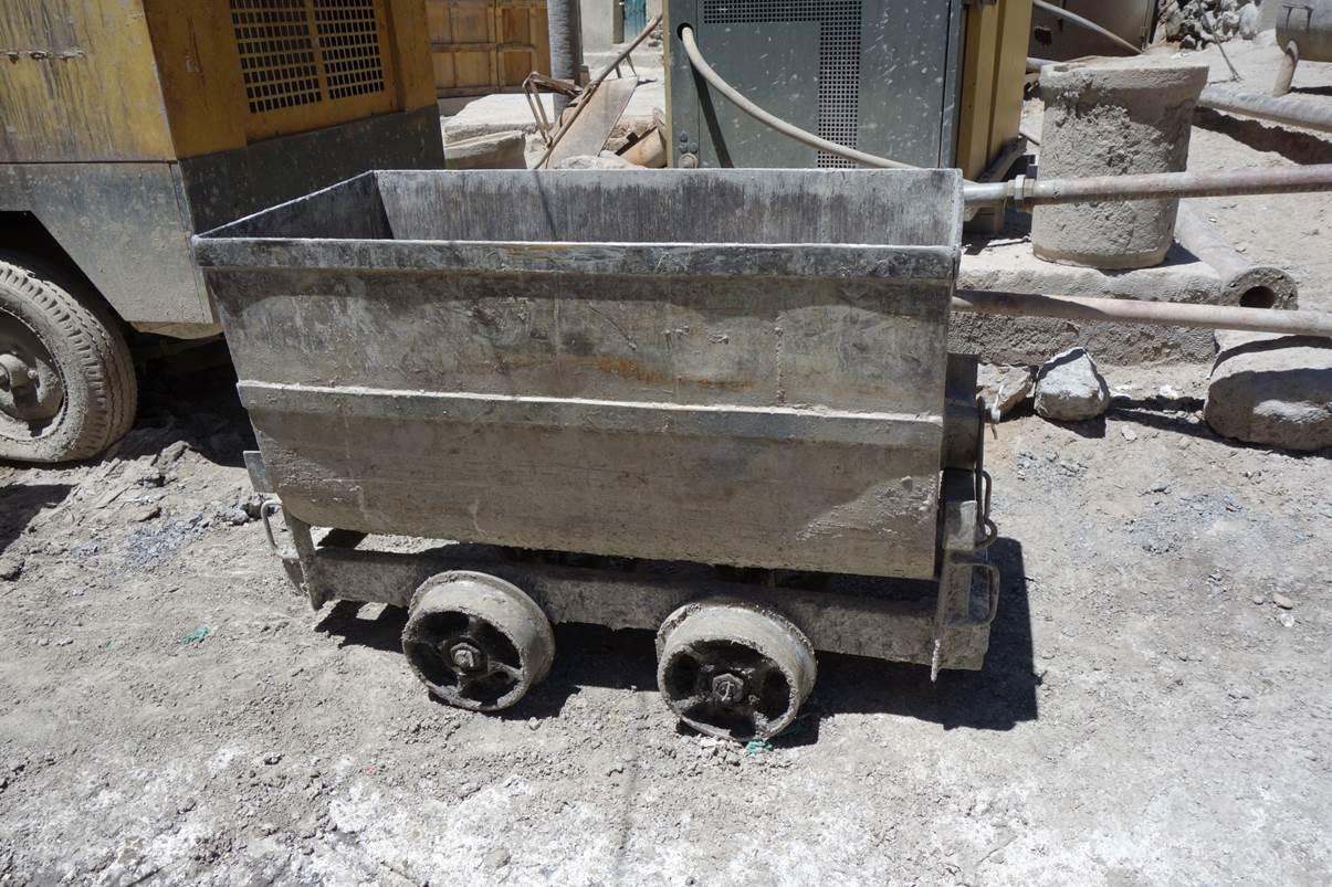 Wagon pour les mineurs