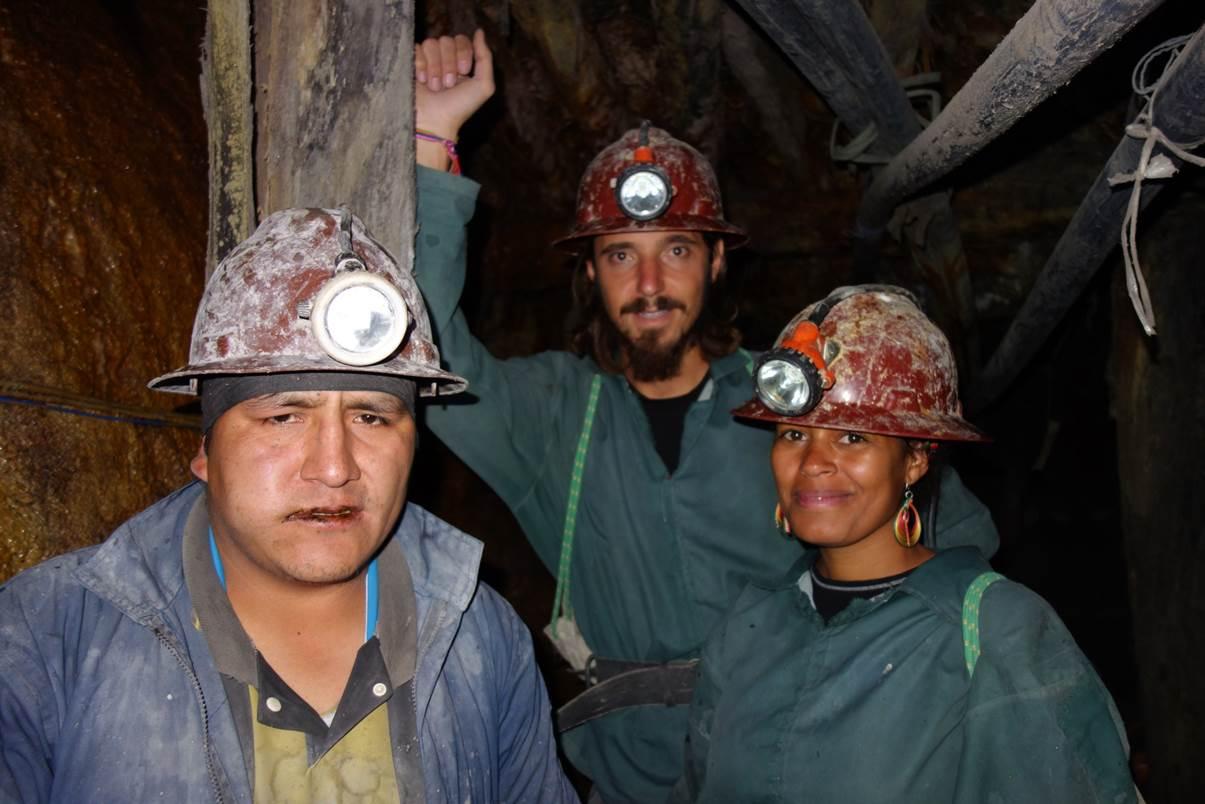 Gallerie dans la mine