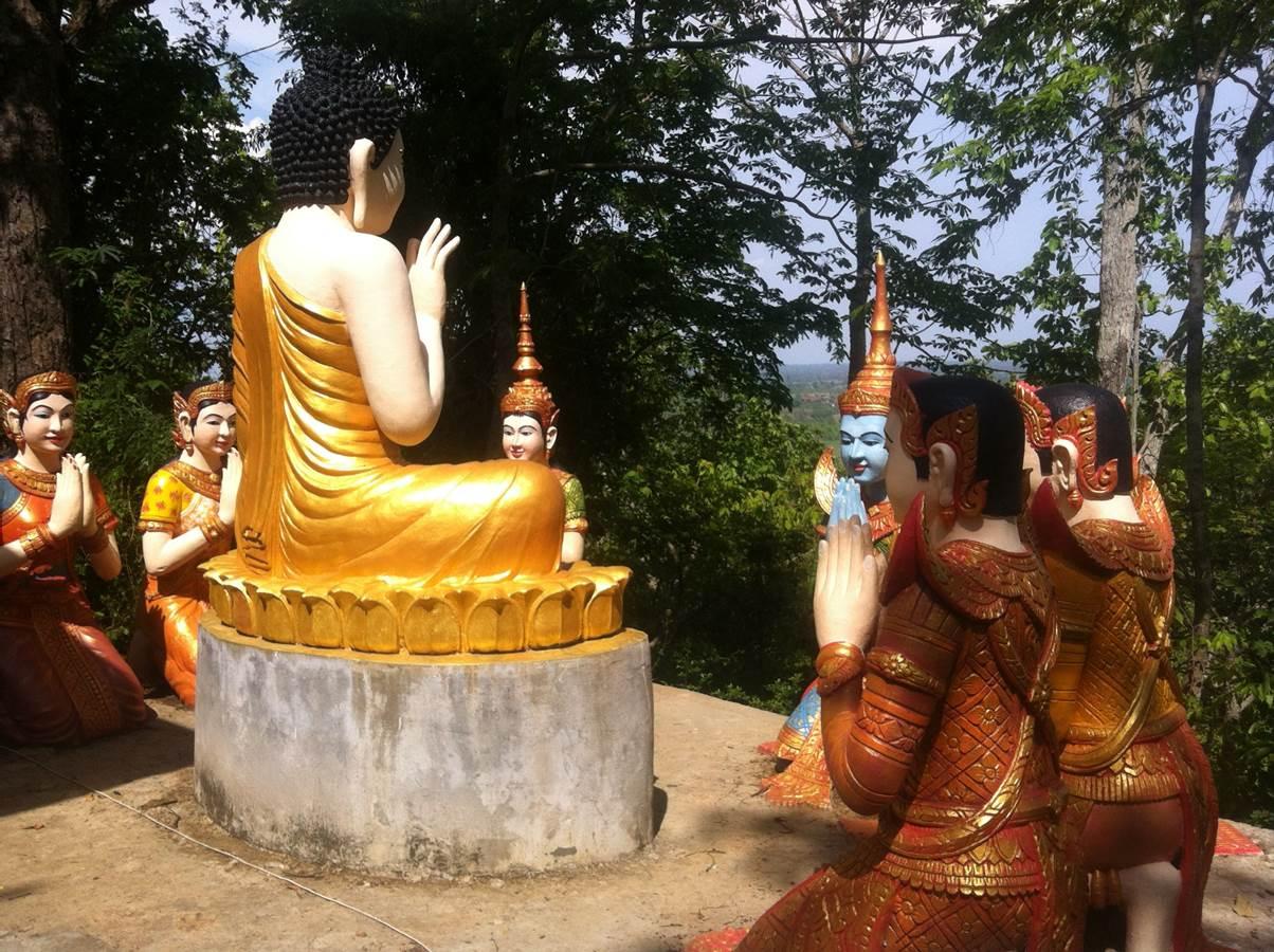 Kratie - Temple