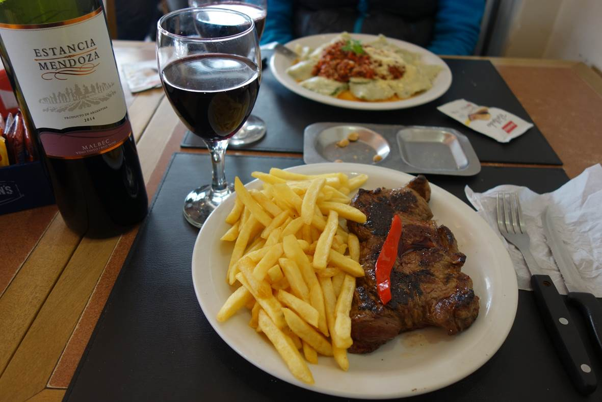 Biffe de chorizo