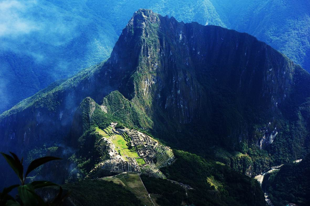 Vue de la montagna