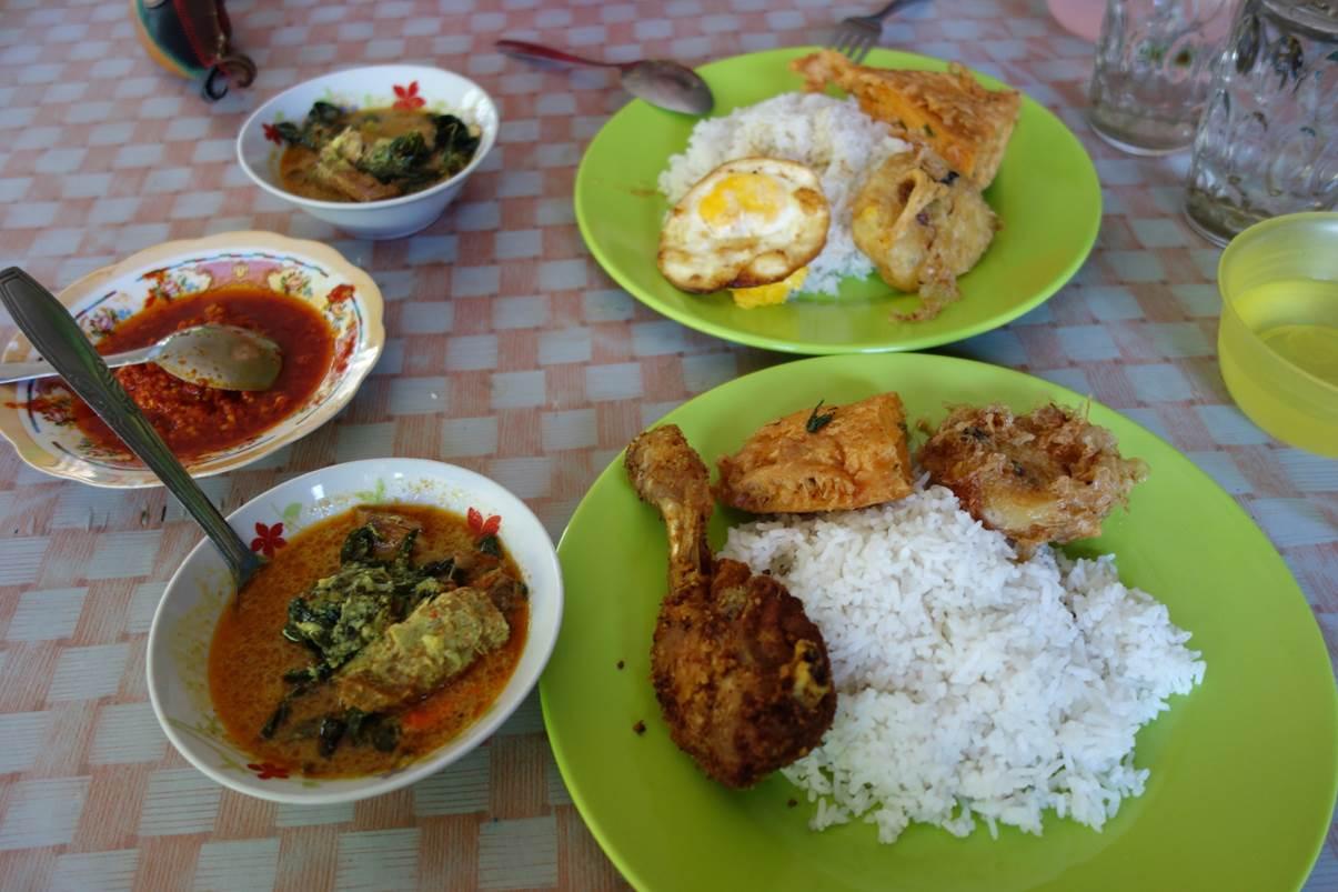 "Buffet froid ""Padang"""