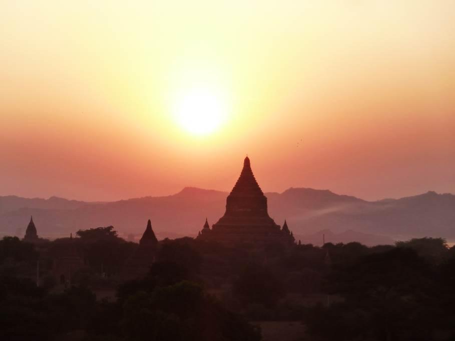 Pagodes - Bagan
