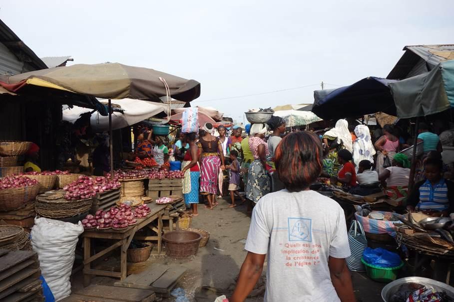 Marché Dantokpa - Cotonou