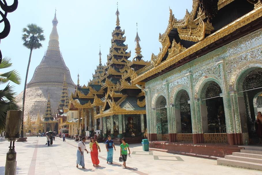 Pagode Schwedagon - Yagoon