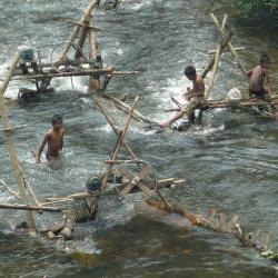 Barrage de production d'électricité - Vers Vieng Thong