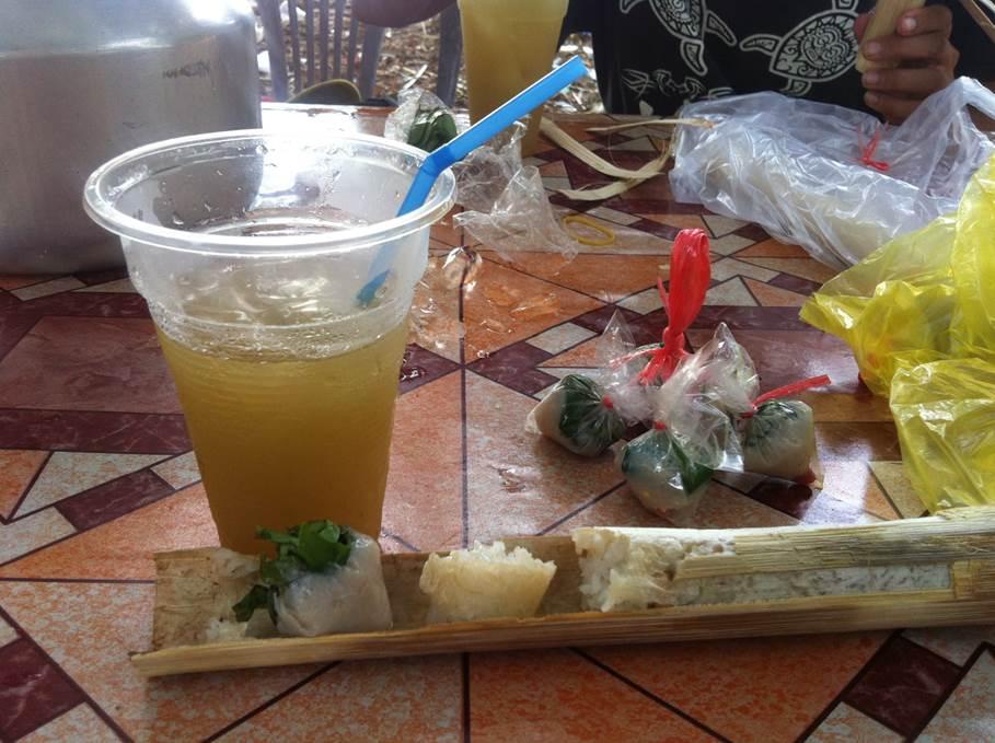 Spécialité - Jus de canne à sucre et riz sucré