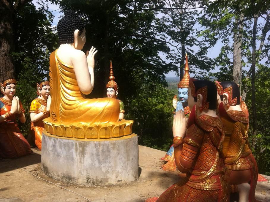 Temple - Kratie
