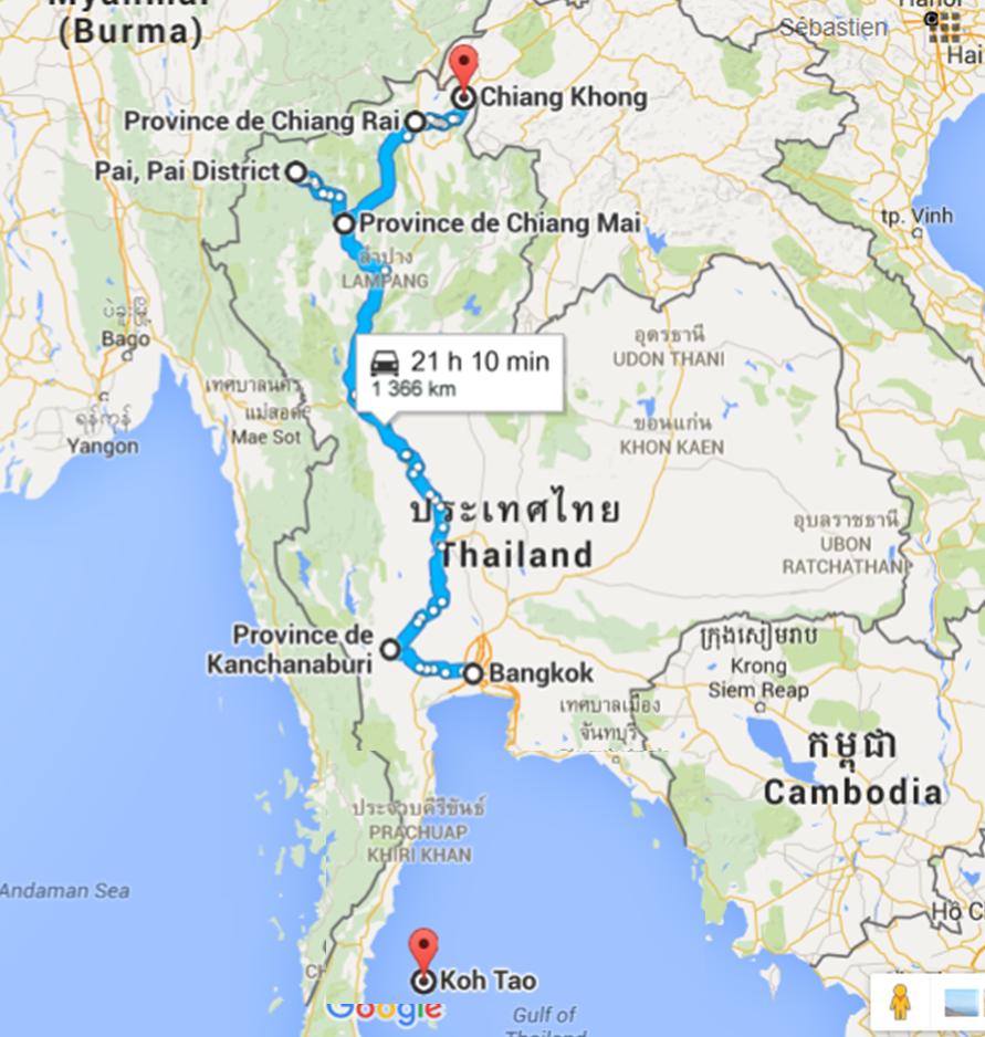 Thai carte